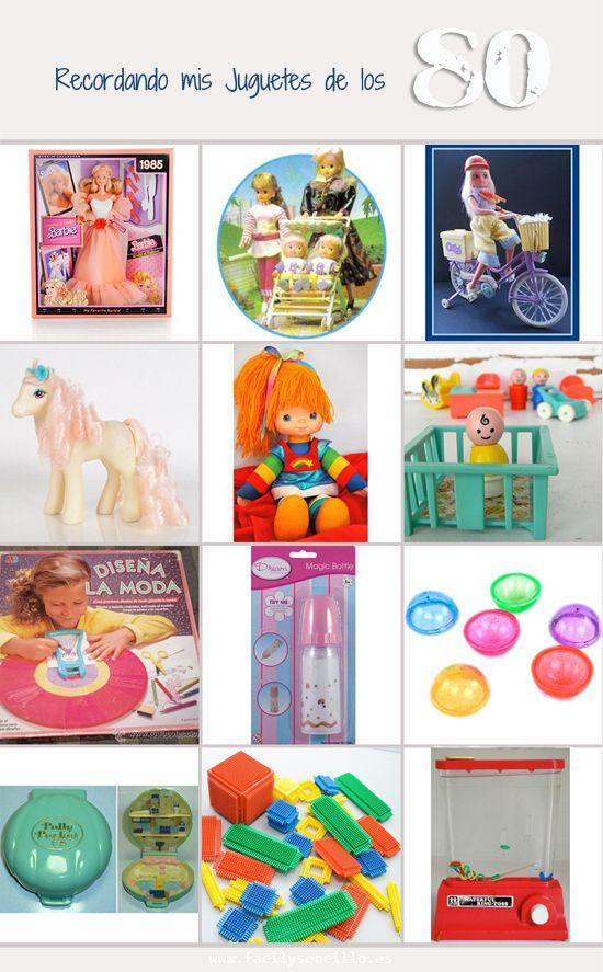 Algunos Juguetes De Los Anos 80 Facil Y Sencillo Juguetes Juguetes Para Ninas Recuerdos De La Infancia