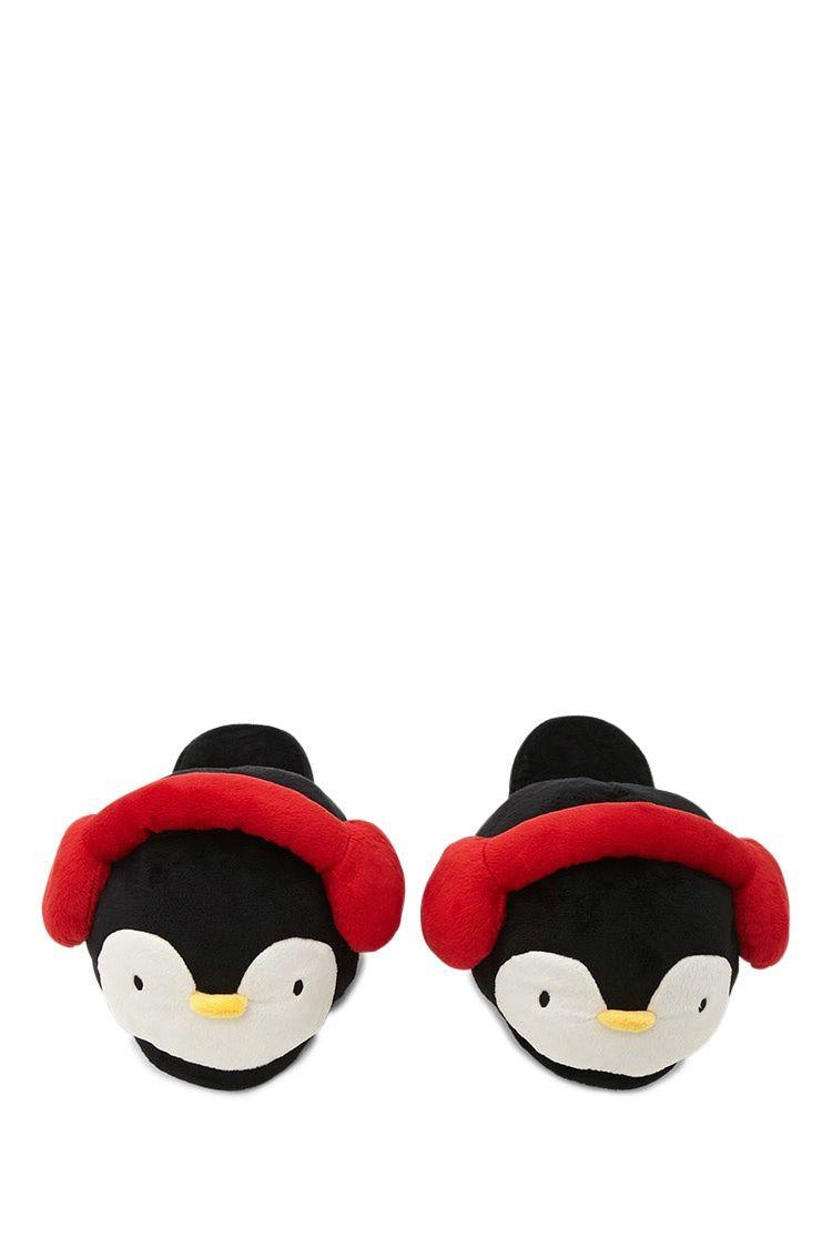 acf838d5a4f Penguin Earmuff Slippers