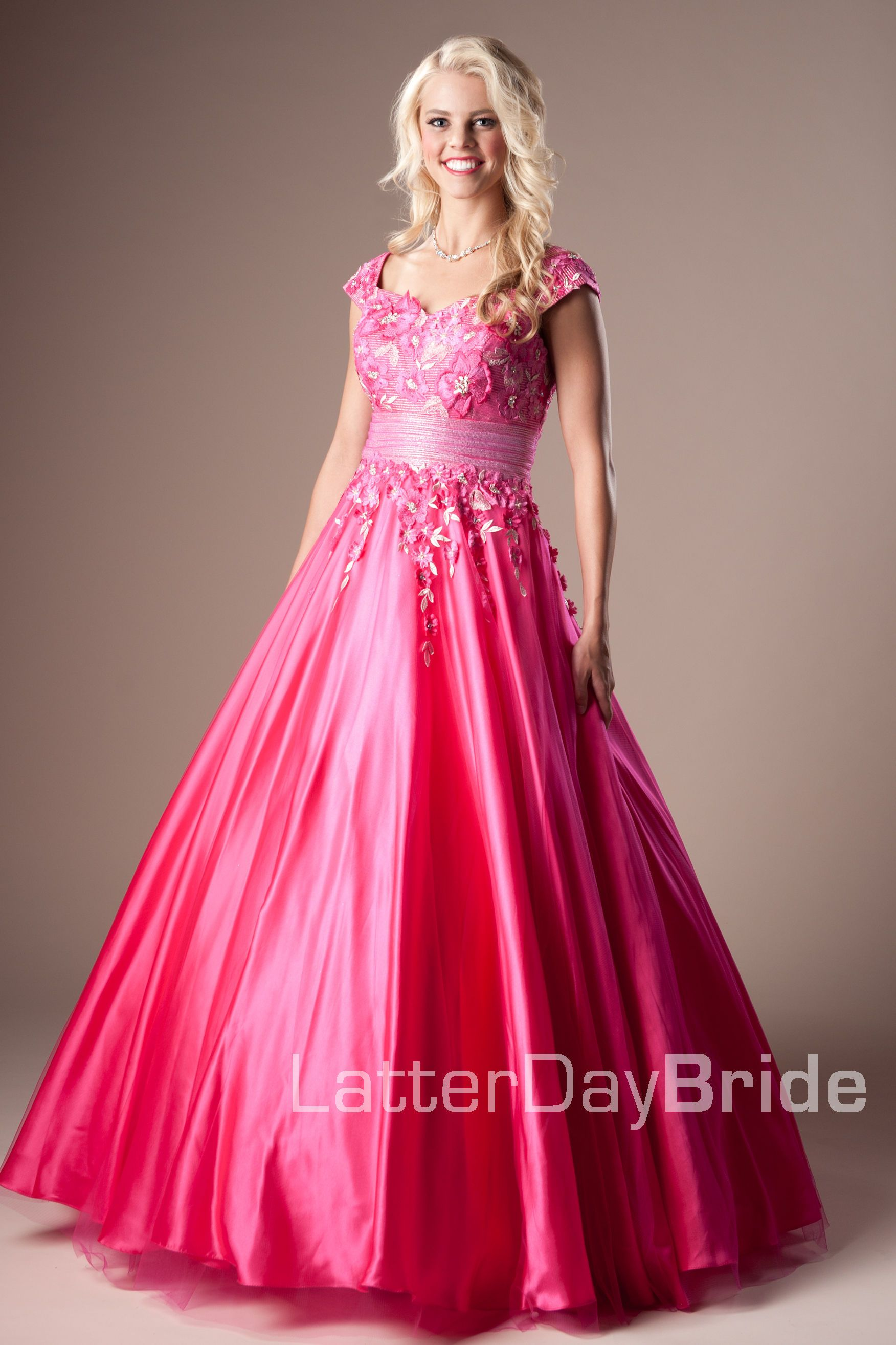 Bridesmaid & Prom, Shayna | LatterDayBride & Prom -Modest Mormon LDS Prom Dress