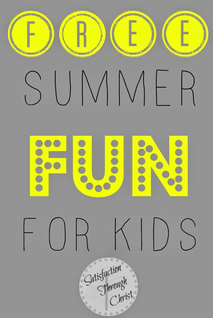 Places that offer Free Summer Fun For Kids