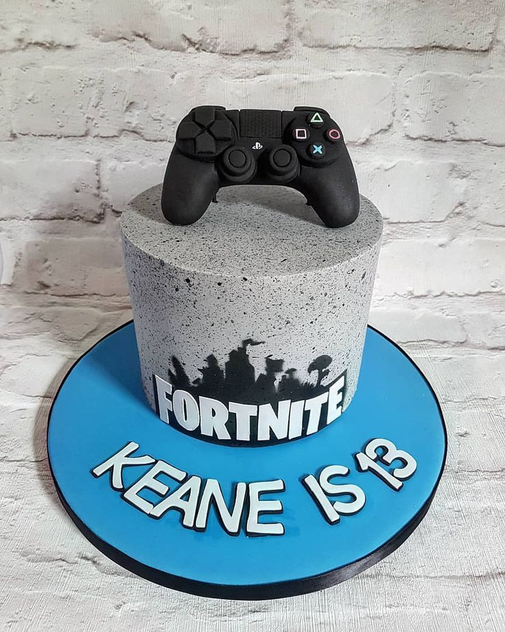 Fortnight Themed Cakes Have Never Been Cooler In The Words Of My