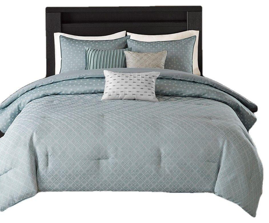 Biloxi 7 Piece Comforter Set Contemporary Comforters