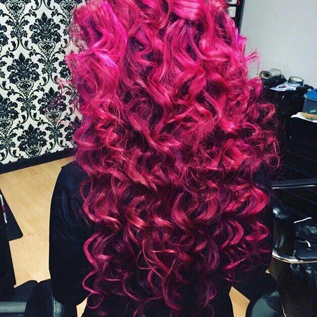 Sasha Banks Is Hair Goals Goddess Hairstyles Hair Color Crazy Pink Curls