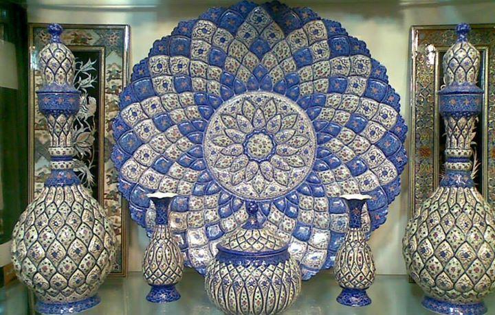 Minakari Art, handmade of iran, with 5000 years old, Ancient ...