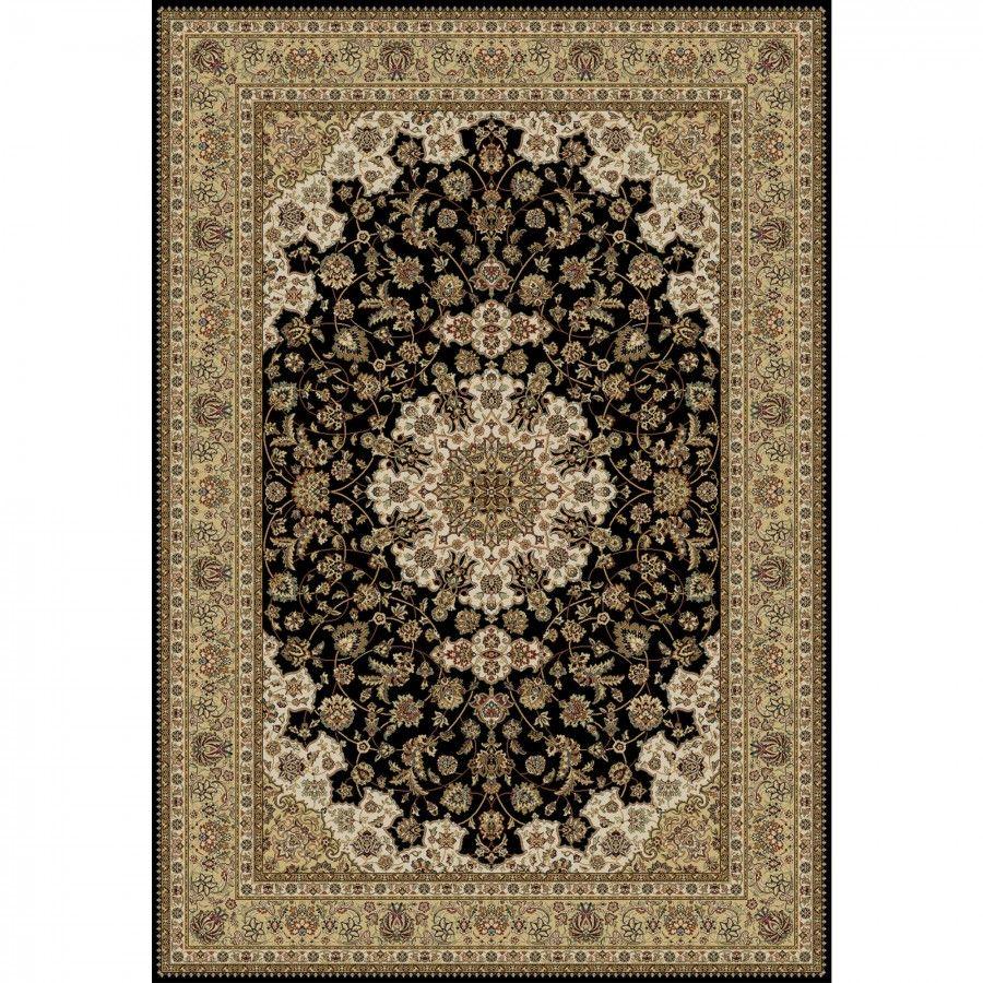 Oriental Infinity Black Isfahan Rug