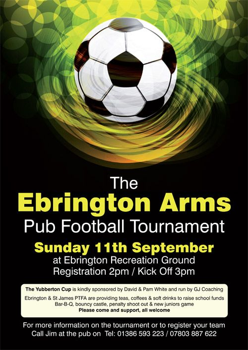 Football Tournament Posters