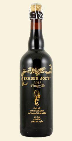 Trader Joe S 2012 Vintage Ale Really Tasty Craft Beer Beer