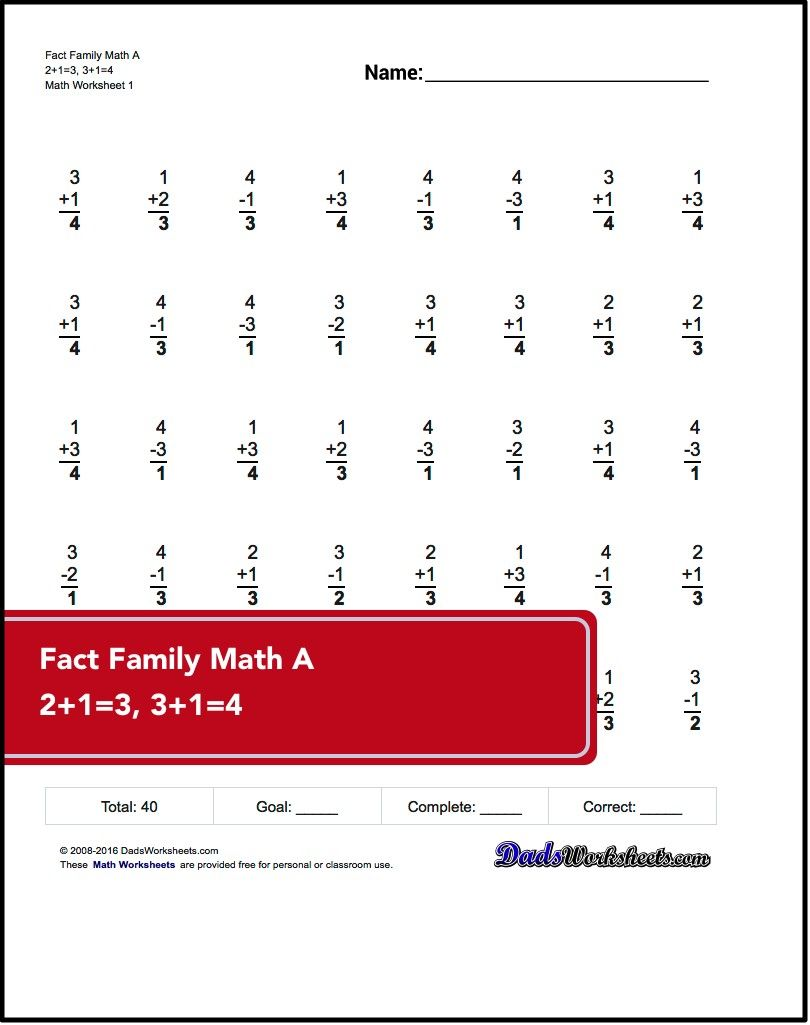 2nd Grade Math Worksheets Core Addition Subtraction Multiplication And Division Fact Practice W 2nd Grade Math Worksheets Math Worksheets 2nd Grade Math