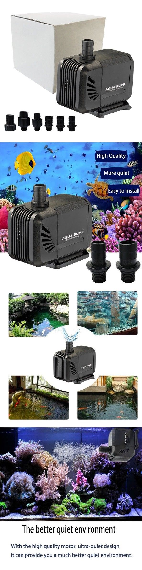 Water Pumps and Pressure Tanks 118851 Aquarium Water Pump