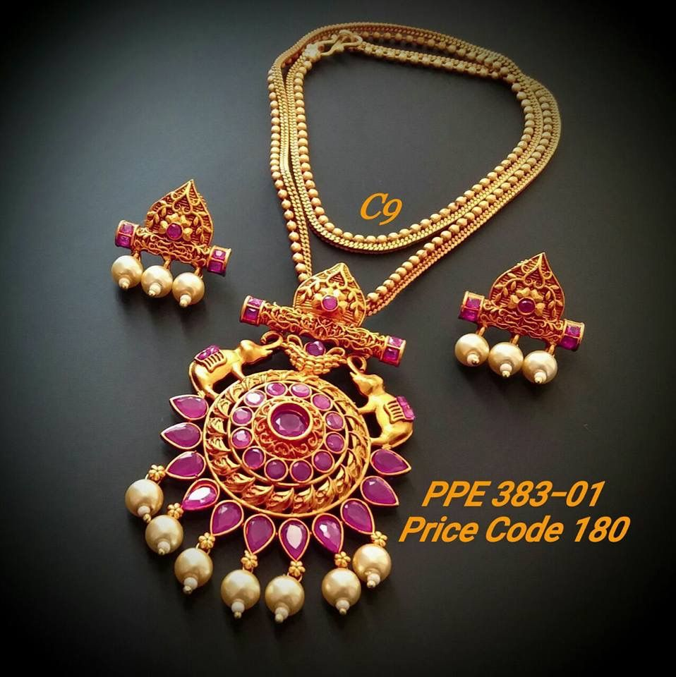 One gram gold jewellery Dm for rates Interested customers whatsapp ...