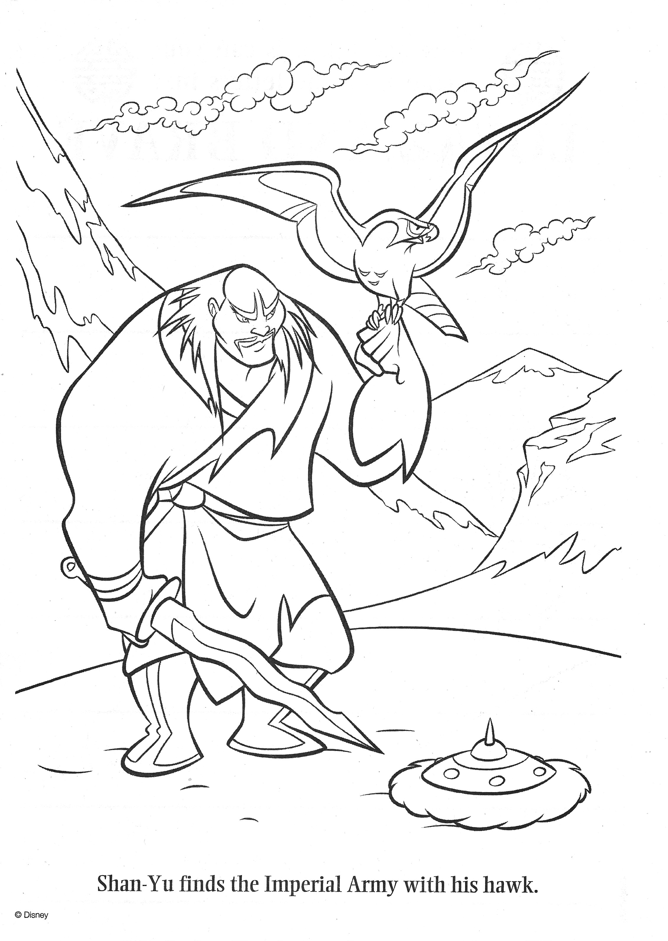 25 Coloring Pages/LineArt-Disney-Mulan ideas in 25  mulan