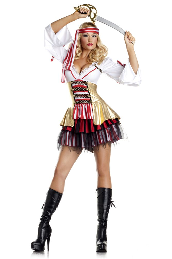 Sultry Sea Siren Costume, Sexy Pirate Costume Sexy Halloween - halloween costumes 2016 ideas