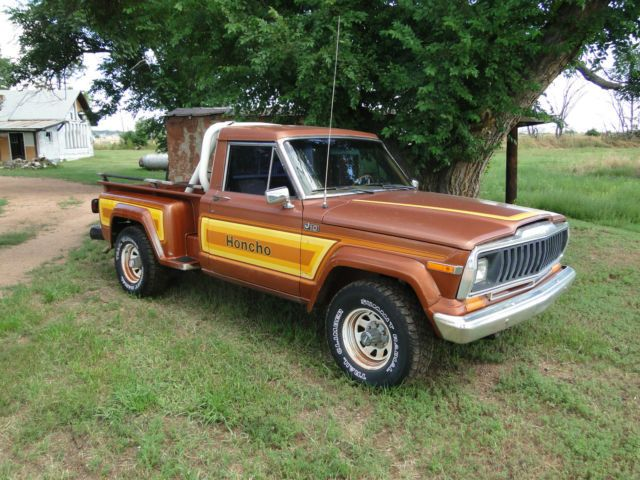 1981 Jeep J10 Honcho Step Side Truck Short Bed Jeep Jeep Truck