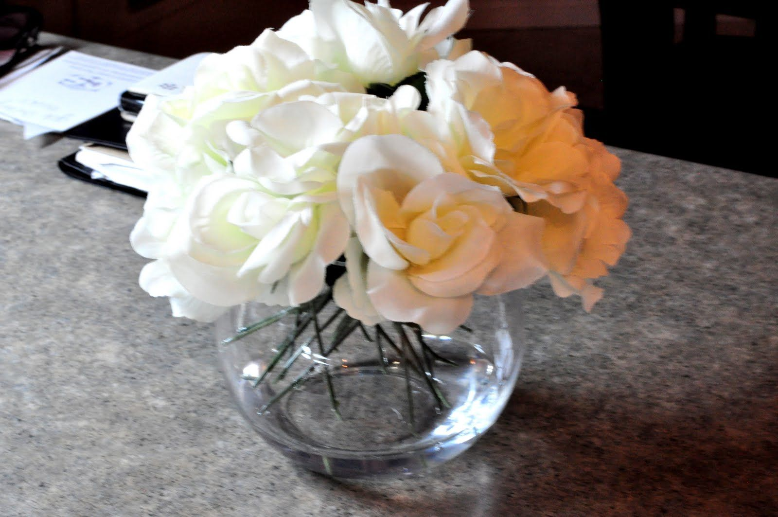 Diy artificial flower arrangements with water with images