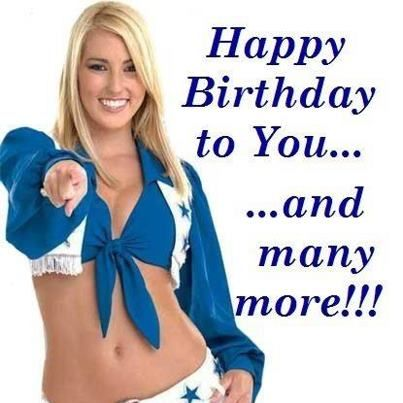 Dallas Cowboys Happy Birthday Dallas Cowboys – Football Team Birthday Cards