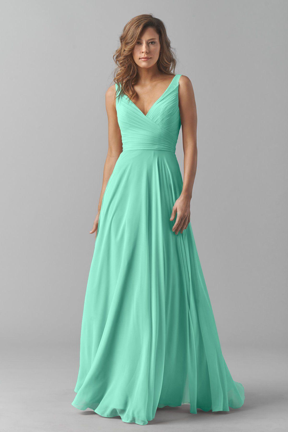 Watters Maids Dress Karen | The Future Mr. & Mrs. Klinge | Pinterest ...