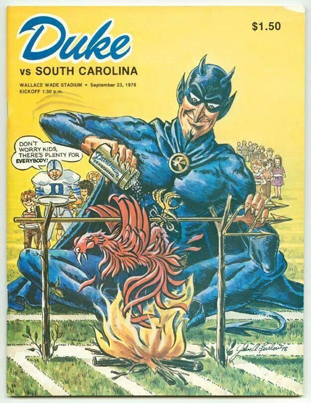 Duke vs South Carolina! Duke blue devils, Duke vs, Unc logo