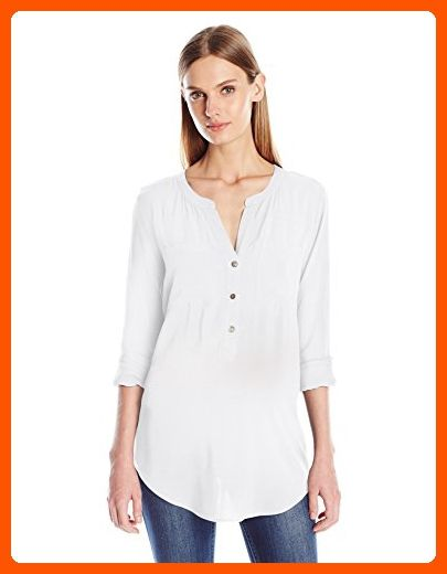 Velvet By Graham & Spencer Woman Short Sleeved Off-white Size XS Velvet Sale Discount Discount 2018 New Online Shop Clearance Many Kinds Of Outlet Order Online QZxSifeE