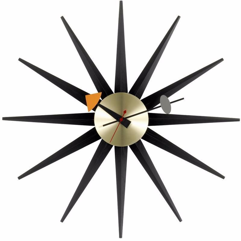The Wall Clocks Are Available In A Diverse Range Of Shapes And Materials Equipped With High Quality Quartz Movements They Off In 2020 Sunburst Clock Wall Clock Clock