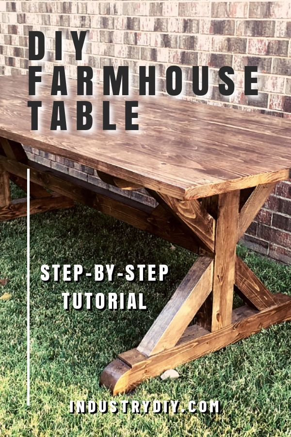 Photo of A Step By Step Guide for Building Your DIY Farmhouse Table