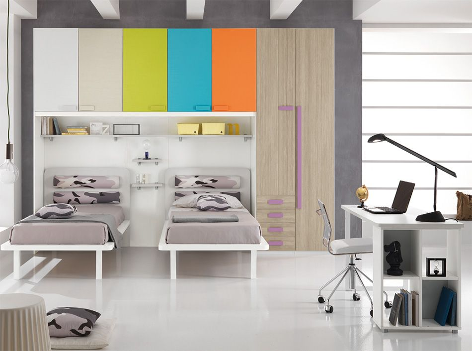 Spar Camerette A Ponte.Modern Kids Bedroom One 503 By Spar Italy Modern Kids Bedroom