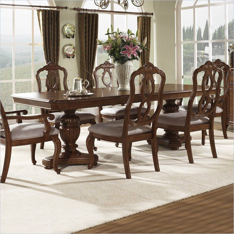 Display your meal with confidence on the Melbourne Dining Table that is sure to\u2026 & Display your meal with confidence on the Melbourne Dining Table that ...