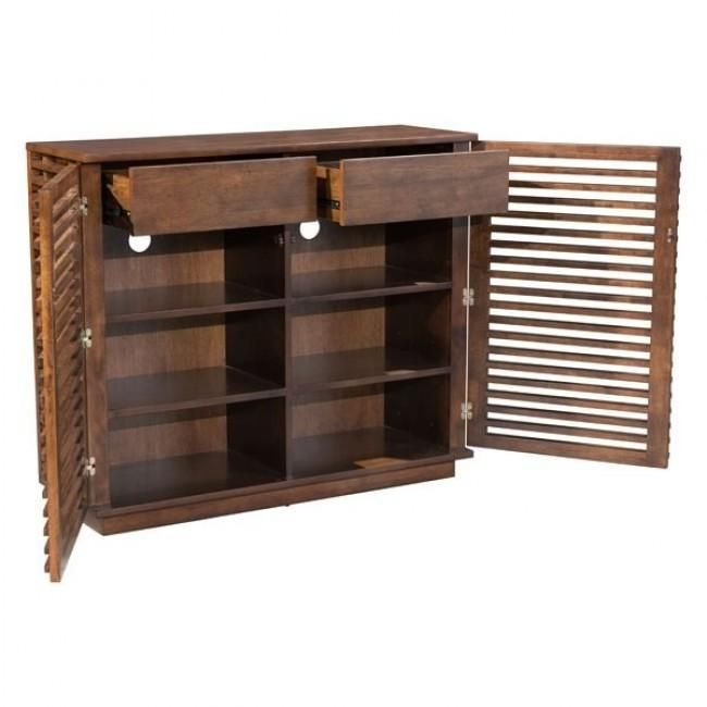Scandinavian In Design The Linea Series Features Narrow Slim Strips Of Solid Fir Wood Creating A Modern Open Air Zm Home Adjustable Shelving Cabinet