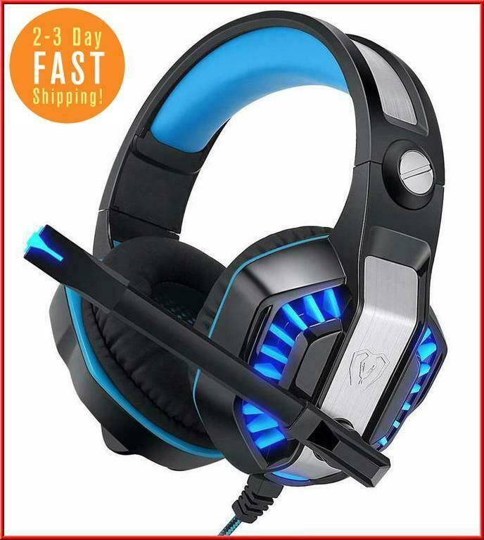 Fortnite Stereo Pro Gaming Headset Noise Reduction LED PS4