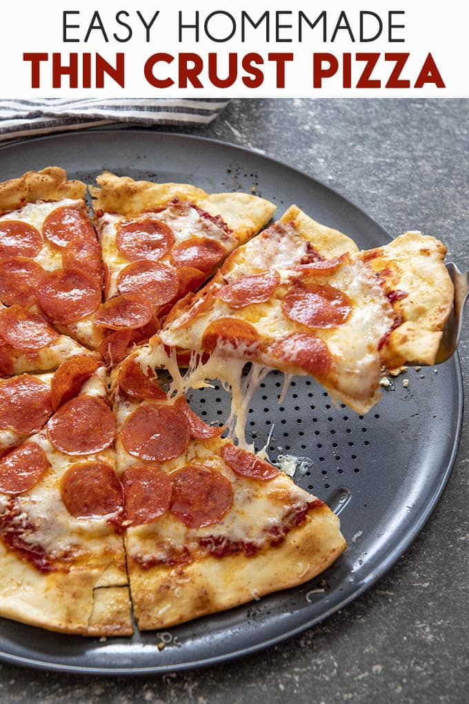 Photo of Easy Thin Crust Pizza