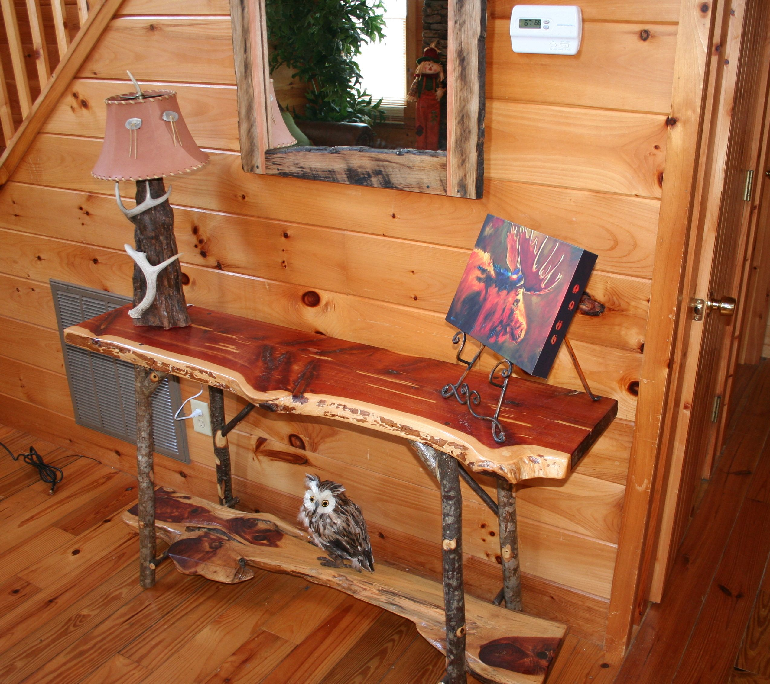 Rustic mountain style cabin decor pinterest