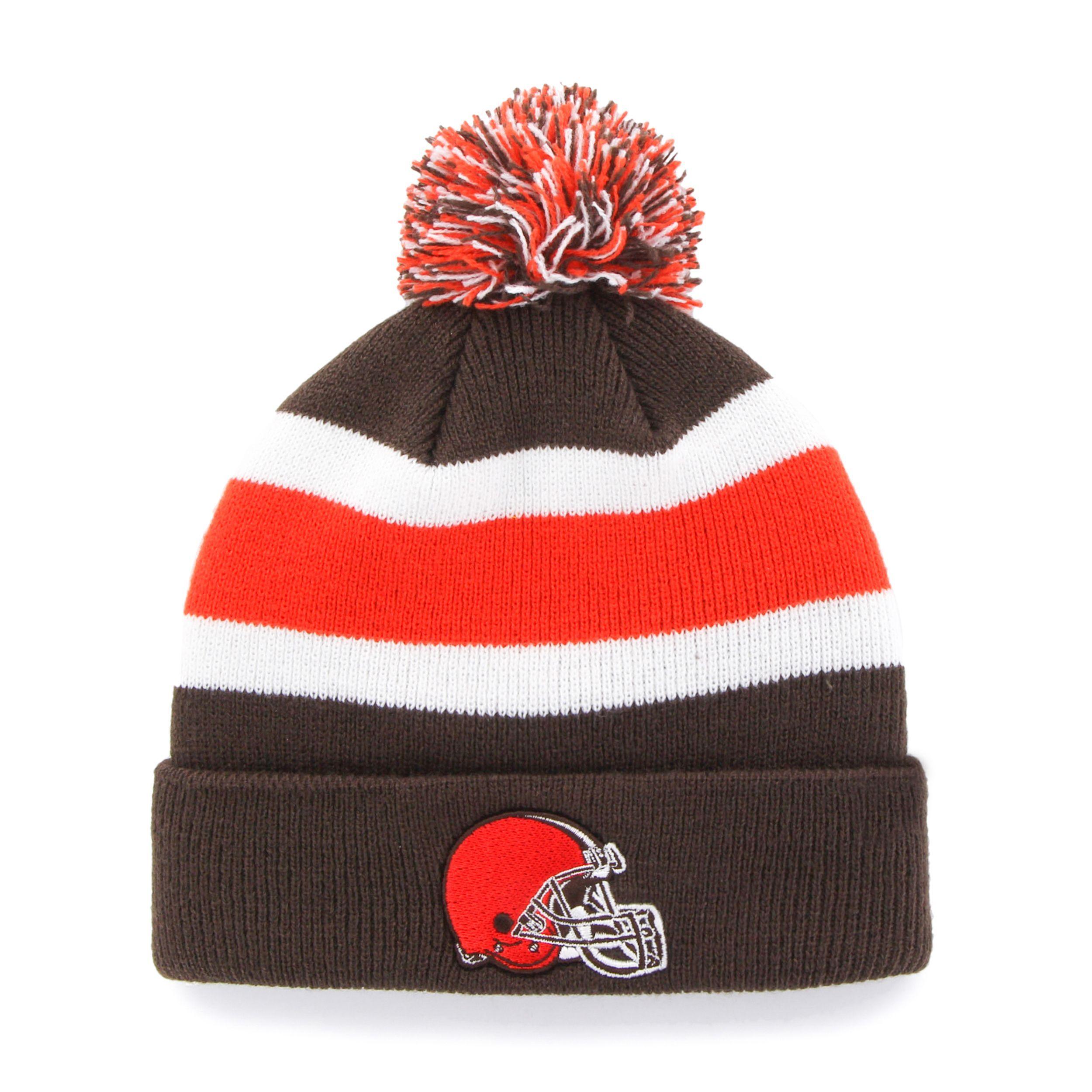 30451f70 47 Brand Cleveland Browns Breakaway Beanie Hat (Cleveland Browns ...