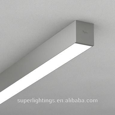 morden design ceiling lighting fixture for t8 led tube school led light profile