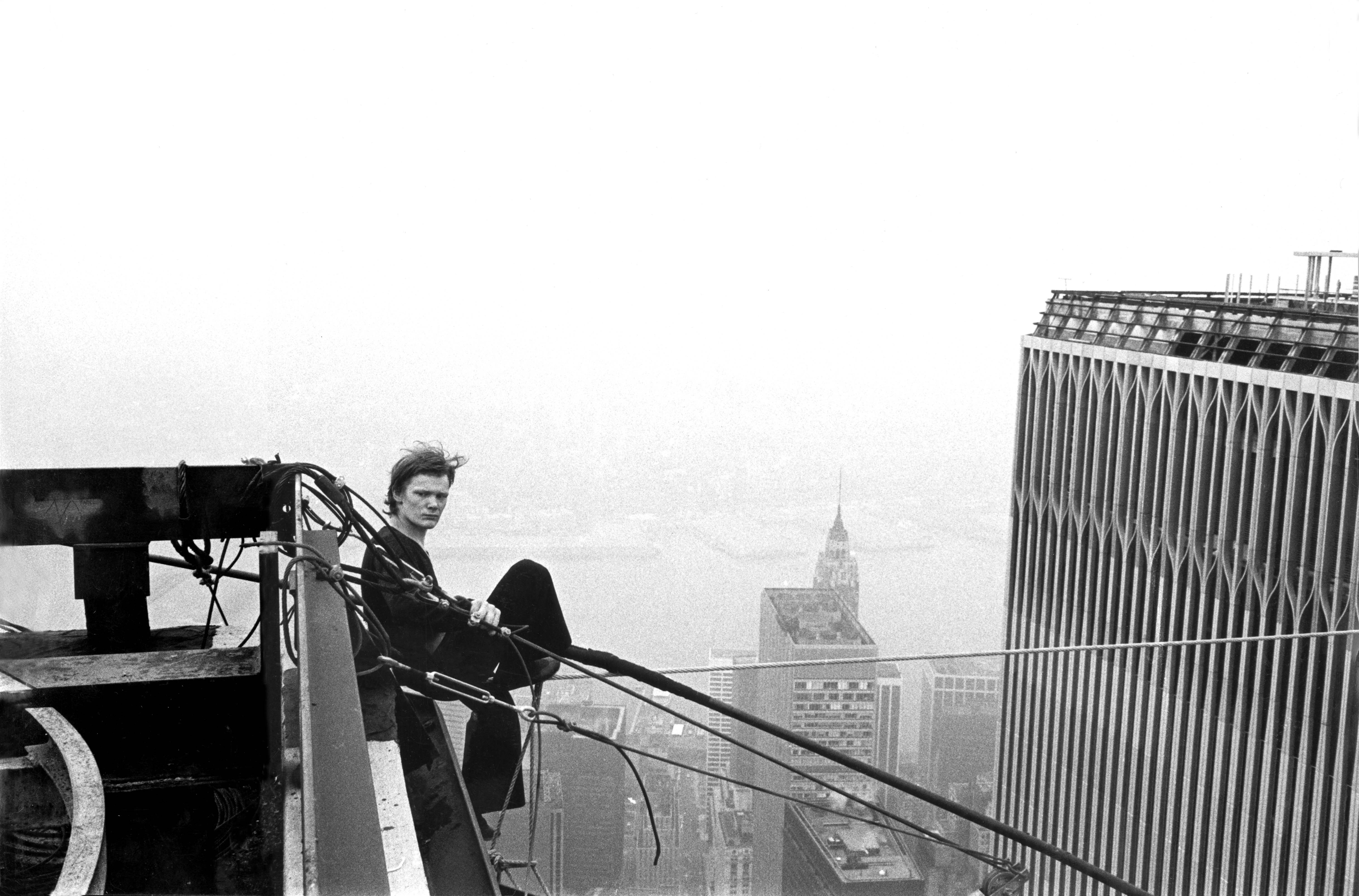 In Man on Wire, Philippe Petit recounts his most famous stunt. | Man ...
