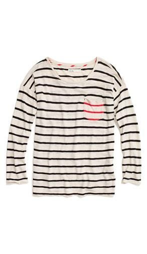Striped Easy Tee | 10 New Fashion Finds to Kick Off a Stylish Year #style #fashion #trends