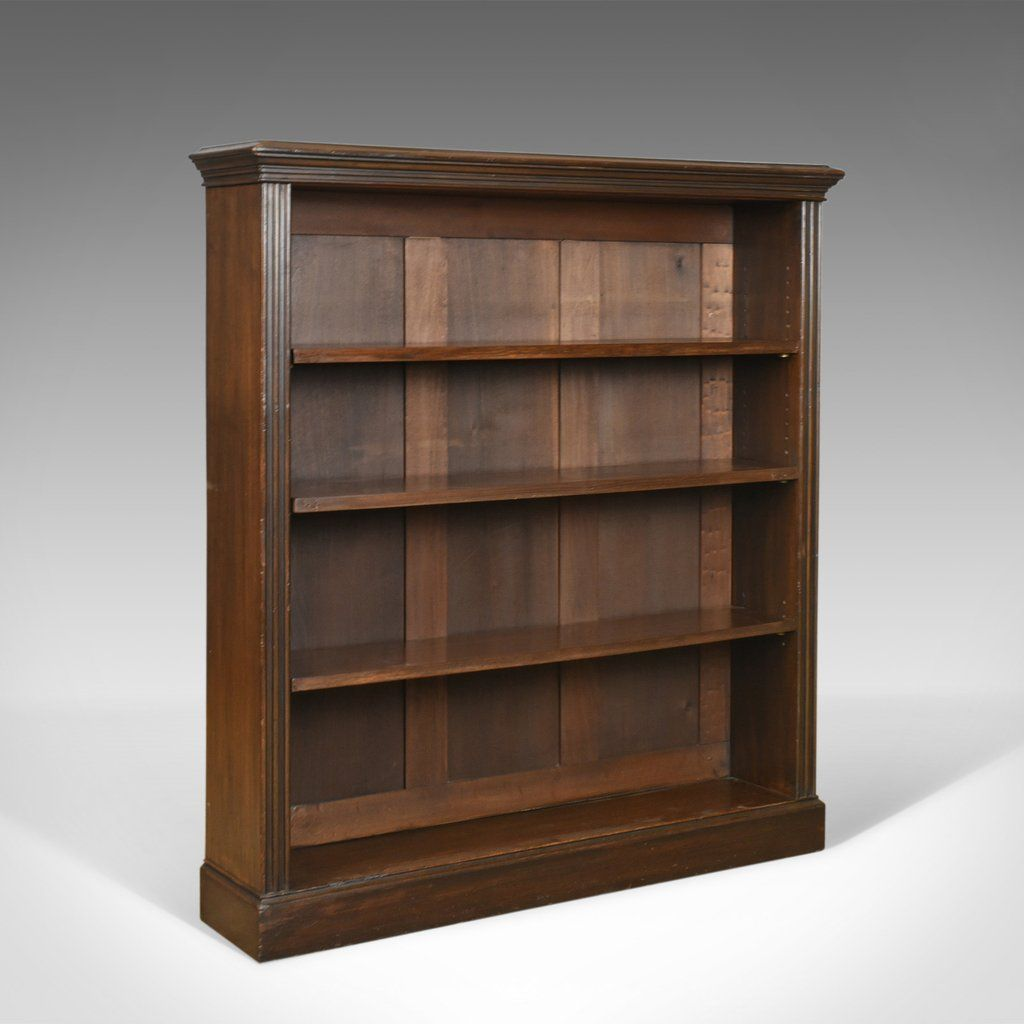 antique open bookcase english victorian book shelves oak circa rh pinterest com antique looking bookshelves small antique bookshelves