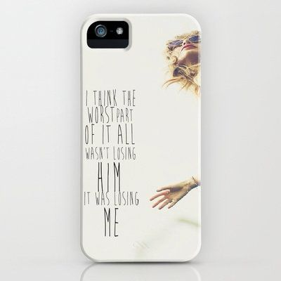 new products f3363 a929d Taylor Swift iPhone Case by Amber Rose | Society6 on Wanelo | Phone ...