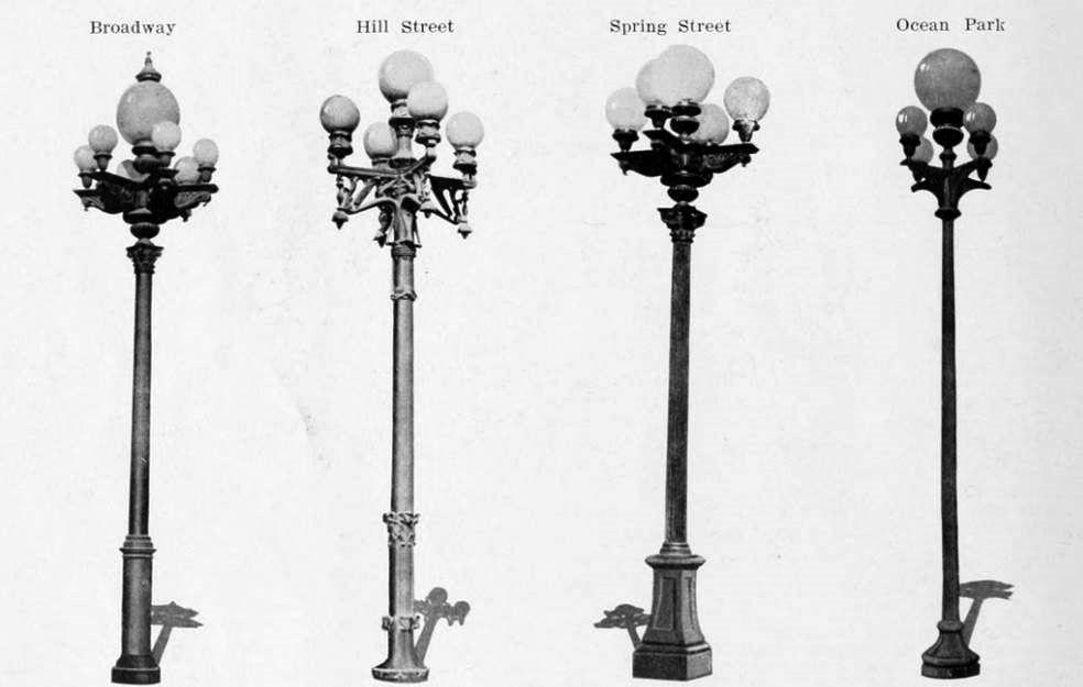 Water And Power Associates Street Light Design Street Light Street Lamp