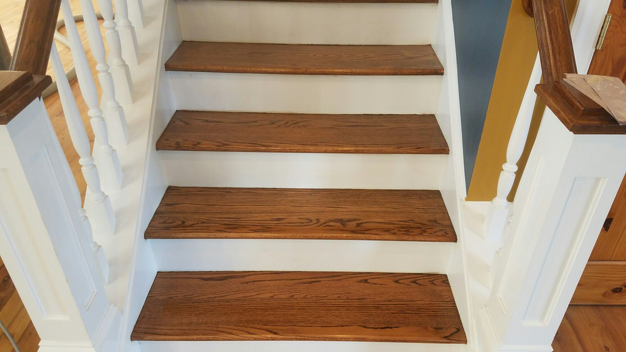 Best These Stair Treads In Sherrills Ford Nc Were Worn Pretty 640 x 480