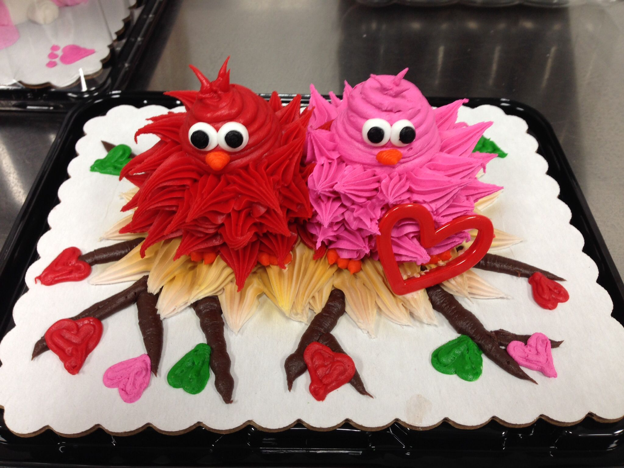 Elmo Ice Cream Cake Carvel