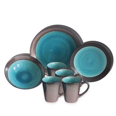 Baum Jade Copper 16-Piece Dinnerware Set - BedBathandBeyond.com  sc 1 st  Pinterest & Baum Jade Copper 16-Piece Dinnerware Set - BedBathandBeyond.com ...