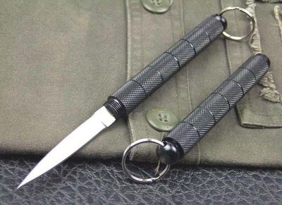 Black Special Hidden Knife Girl Self Defense Bag Knives