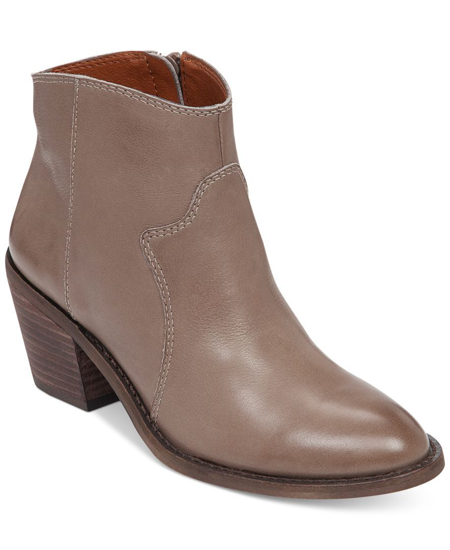 Lucky Brand Women\'s Marcos Western Mid-Heel Booties | Products ...