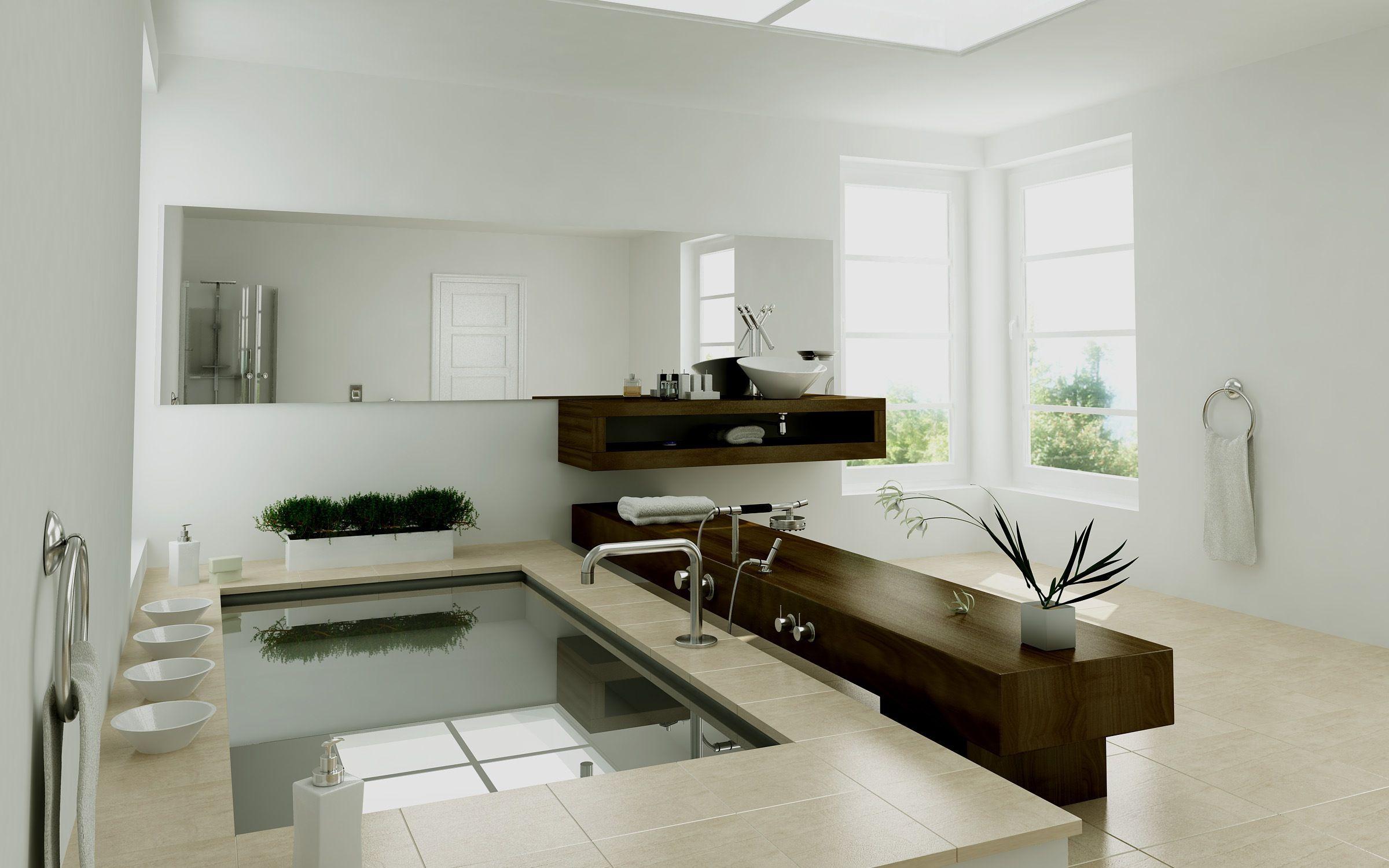 Sample Bathroom Rendering | Lumion Design Software ...