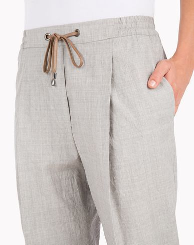 Pants Brunello Cucinelli Women on Brunello Cucinelli Online Boutique