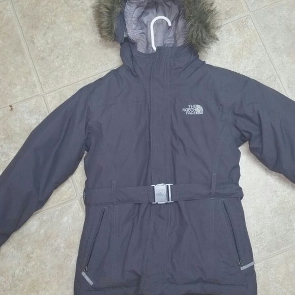 Coat This a grey color, coat,very warm for the cold.. North Face Jackets & Coats