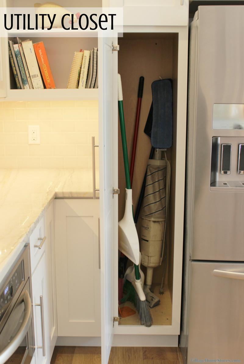kitchen broom cabinet