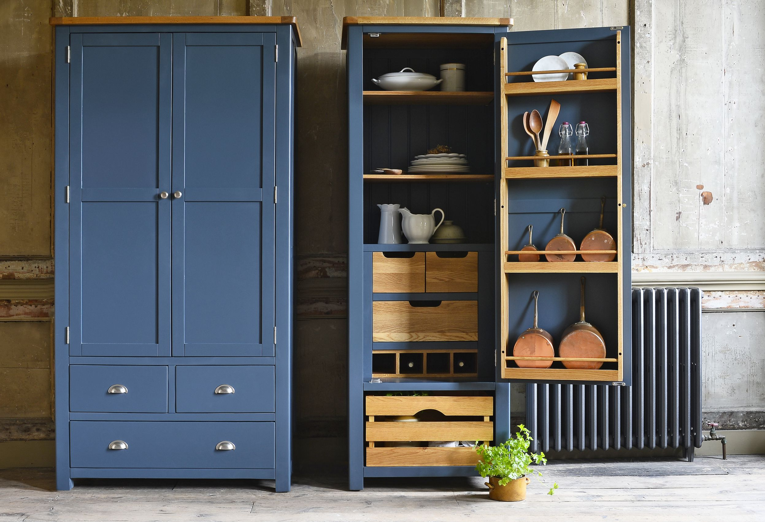 THE 2018 COLOUR TRENDS TO TRY | Kitchen larder, Pantone color and ...