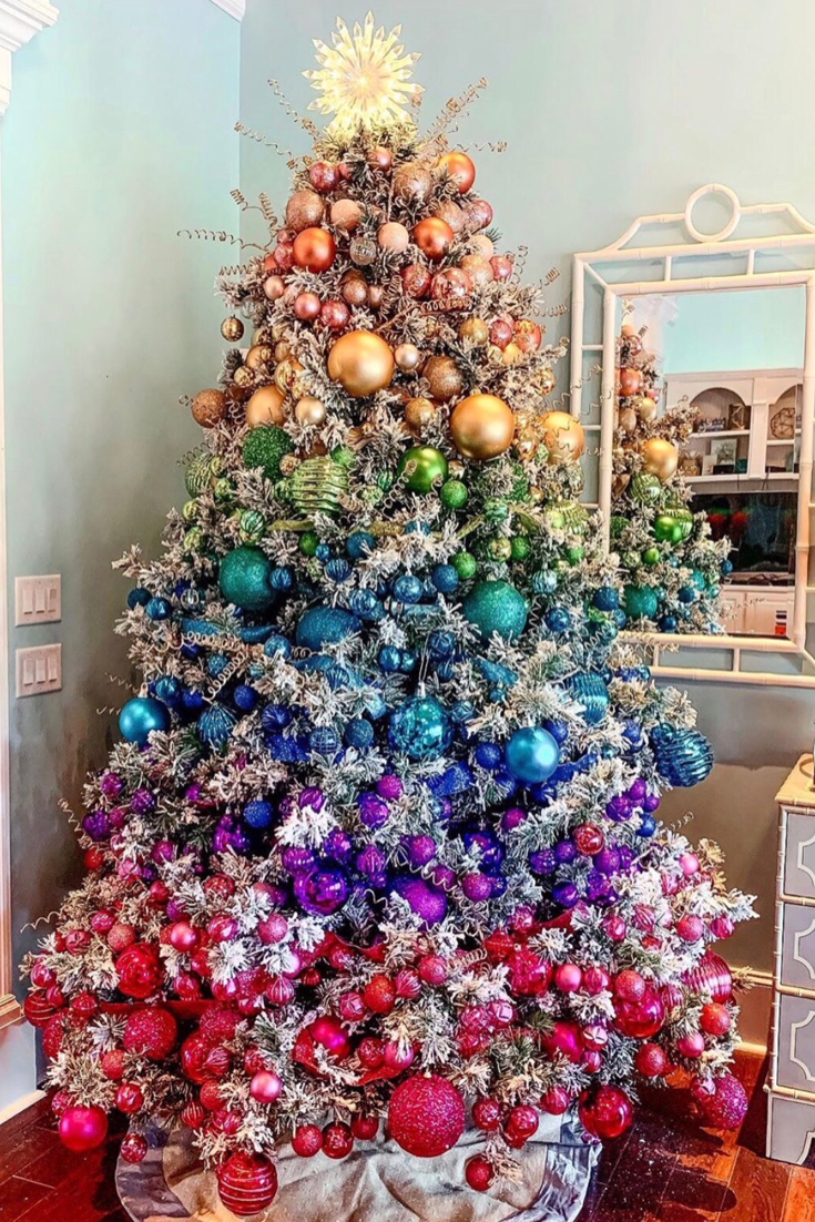 61 Jaw-Dropping Christmas Tree Ideas You Need to Copy -   18 christmas tree themed ideas