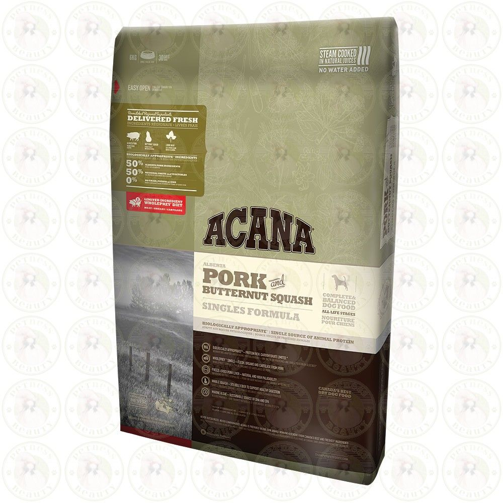 Acana Pork And Butternut Squash Dry Dog Food Is Both A Limited