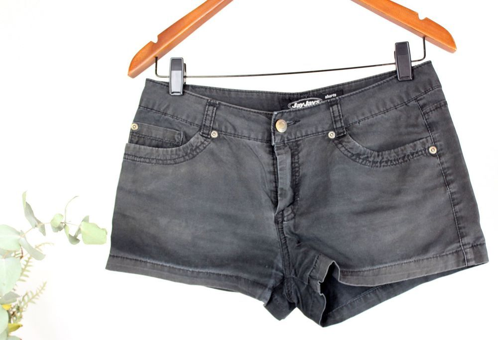 7ceabb31e0eef JAY JAYS Ladies - Size 8 - Charcoal Grey Denim Shorts  JayJays  DenimShorts   SummerBeach